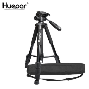 "Huepar Multi-function Travel Camera Tripod 56""/143cm Adjustable Laser Level Tripod with 3-Way Swivel Pan Head,with Bubble Level(China)"