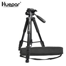 Huepar Многофункциональный Путешествия Камера штатив 56 «/143 см регулируемая лазерный уровень штатив с 3-способ поворотный головкой, с пузырьковый уровень