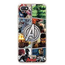 Case For Xiaomi Redmi 4A 4X 5 Plus 5A Note 4/4X 5Pro 6 6A Pro Marvel Avengers Heros Comics Cover for Xiaomi mi A1 A2 5X 6X Case