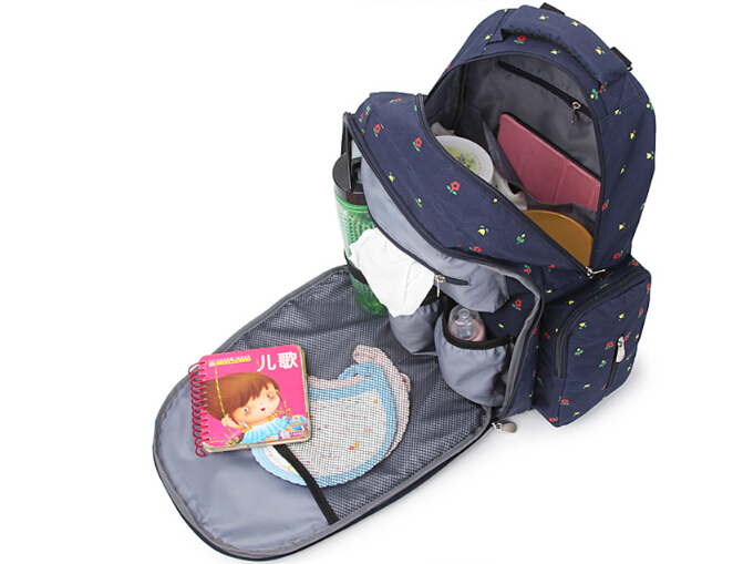 ФОТО Hot Large Capacity Travel Baby Diaper Backpack multifunctional Waterproof Tote Bags Maternity Nappy Bags Bolsa Infanticipate Bag