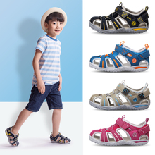 New Summer Boys Orthopedic Sandals Pu Leather Toddler Kids Shoes