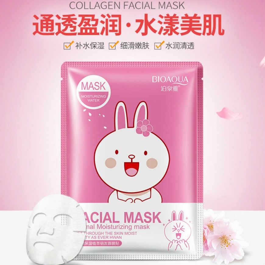 Nouveau masque hydratant extrait de PlantCherry soin de la peau plante masque Facial hydratant contrôle des points noirs masque enveloppé soins du visage