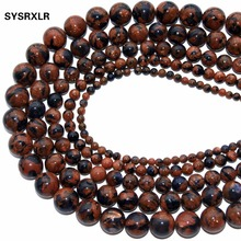 New Color Mixture Goldstone Branelli Loosened Stone Beads For Jewelry Making Diy Bracelet Necklace 4 6 8 10 MM Wholesale
