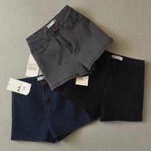 цены Summer New Women Fashion Vintage High Waist Slim Short Jeans, Ladies Brand Casual High Quality Stretch Hot Pants Denim Shorts
