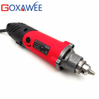 GOXAWEE 240W Mini Electric Drill for Dremel Style Power Rotary Mini Engraving Grinder With Flexible Shaft Home DIY Woodwork Tool