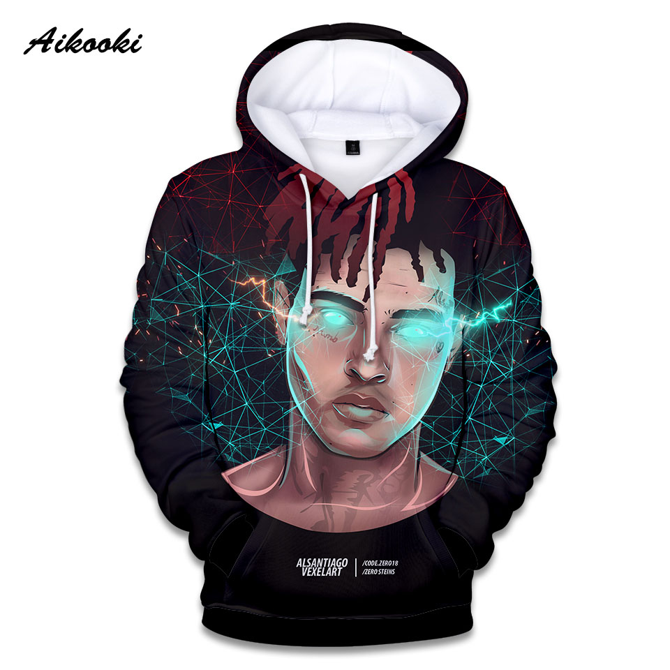 c1a0d596e8f 2019 Aikooki 3D Xxxtentacion Hoodies Men Women Sweatshirt ...