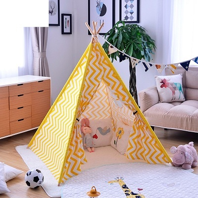 YARD Indian Design Warm Style Kids Tents for Children Playhouse