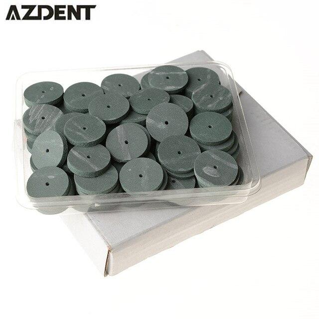 100 шт./пакет лаборатории резиновые полировки колеса боры Отбеливание зубов Гигиена полости рта силиконовый полир