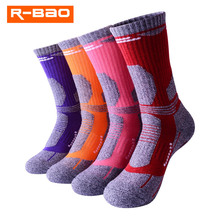 Новинка зимние теплые спортивные носки для пешего туризма на открытом воздухе для мужчин и женщин влагопоглощающие альпинистские лыжные Н...
