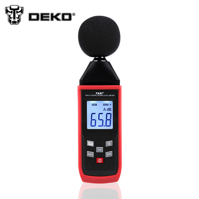 DEKO Noise Measuring Instrument Digital Sound Level Meter Portable Noise Tester Decibel Monitoring Diagnostic-tool