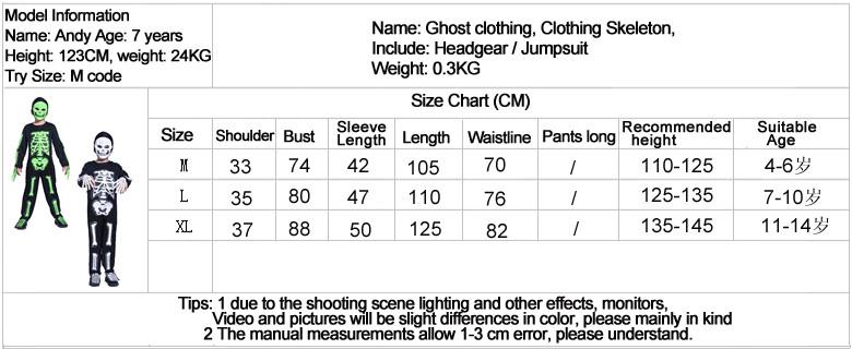 Skeleton clothes for Halloween 16