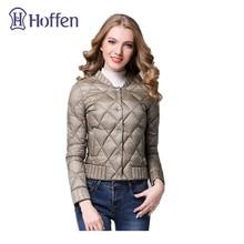 Hoffen Spring Winter Women Ultra Light Down Jacket Casual Female White Duck Down Coat Slim Fit Soft Lightweight Parkas WWS317