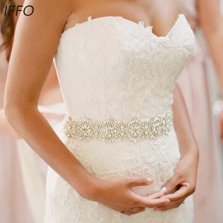 Luxury Custom Wedding Belt Bridal Sash Wedding Bridal Belt