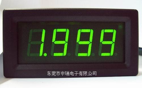 DC 2A Green LED Digital Amp current panel meter