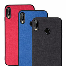 For Huawei P20 Lite Case P Smart Plus Silicone Back Cover Phone Nova 3i 3 Nova3i 3E Capa