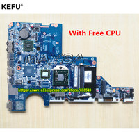 592809 001 mainboard DA0AX2MB6E1 REV: E With Processor Fit For HP/ Compaq CQ62 G62 CQ42 G42 Notebook PC