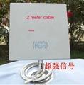 14dB 2.4 GMHz Wireless WiFi WLAN Antena de Panel Exterior con cable de 2 metro 1 unids/lote