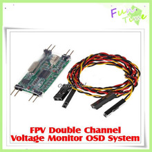 FPV Monitor OSD System Double Channel Voltage Monitor