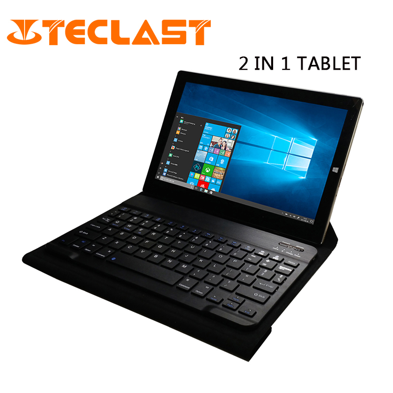 Teclast Tbook 10s 2 in 1 Tablet PC Windows 10 Android 5.1 IPS Intel Cherry Trail Z8350 Quad Core 4GB RAM 64GB ROM 10.1 inch-in Tablets from Computer & Office    1