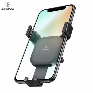 Image 2 - SmartDevil Car mobile Holder for Phone Gravity Reaction Air Vent Mount Phone Holder Cell Phone Holder Stand for Samsung Xiaomi