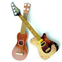 14.5 дюймовый укулеле начинающий Гавайи 4 строка нейлоновые струны для гитары музыкальные укулеле для детей дети девочек рождественские подарки