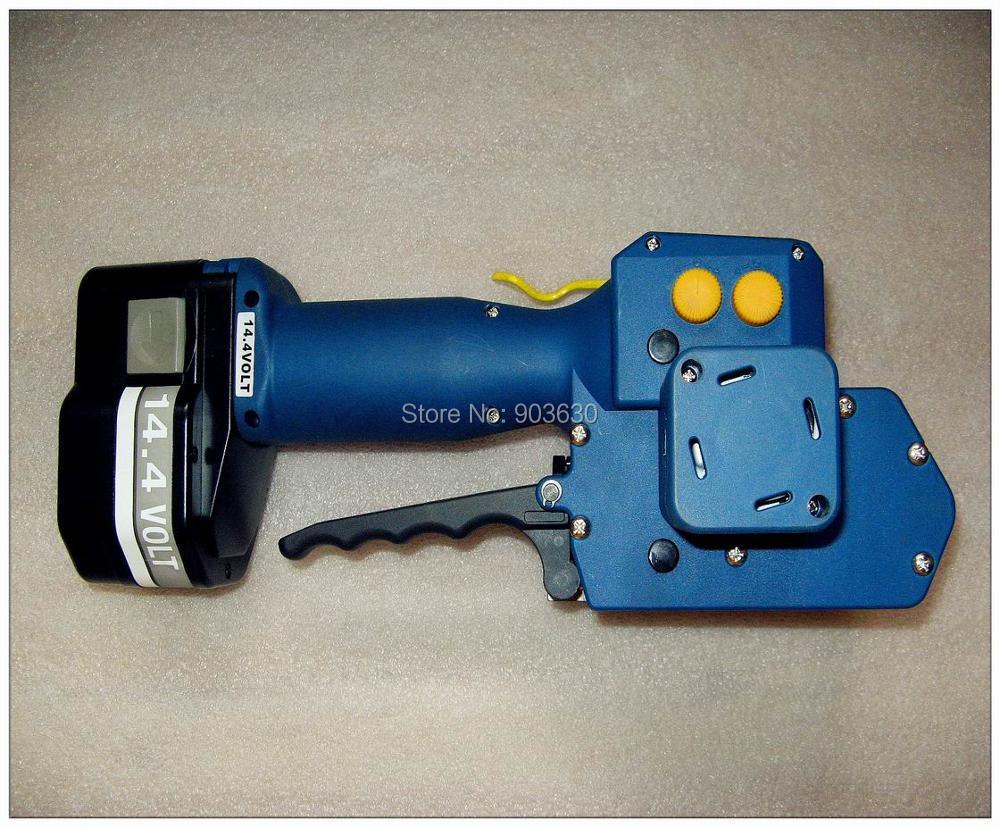 Z323 su baterijomis maitinamas PET / plastikinis suvirinimo surišimo - Įrankių komplektai - Nuotrauka 2