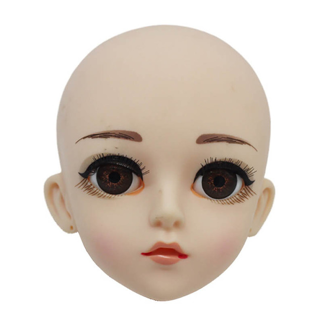 22 Moveable Jointed 45cm Dolls Toys Head 3D Eyes Nude Naked Body Fashion Princess Dolls Toy Clothes AccessoriesDolls & Stuffed Toys
