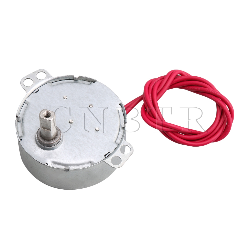 CNBTR AC 12V 12KGF.CM Metal Gear Synchronous Reduction Gear Motor Gear Box 0.8-1rpm for Crafts Rotate Machine PartsCNBTR AC 12V 12KGF.CM Metal Gear Synchronous Reduction Gear Motor Gear Box 0.8-1rpm for Crafts Rotate Machine Parts