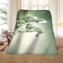 P#104 Custom Horse#13 Home Decoration Bedroom Supplies Soft Blanket size 58×80,50X60,40X50inch SQ01016@H+104