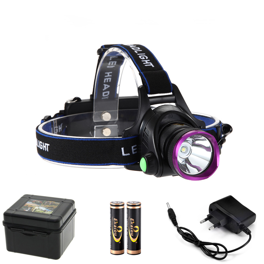 Super Bright Led Headlamp Led Rechargeable Head Lamps Flashlight 3 Modes Tactical LED Headlight For Running Camping