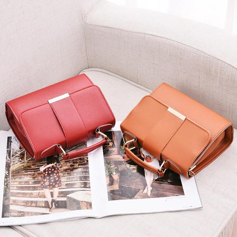 Women Bag Leather Handbags PU Shoulder Bag Small Flap Crossbody Bags for Women Messenger Bags 8