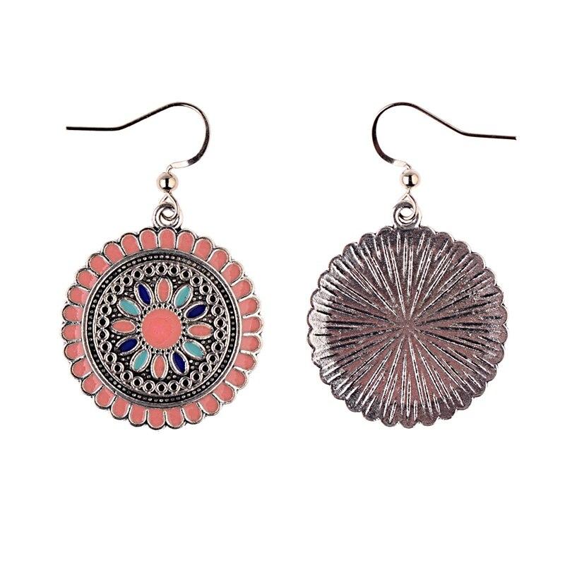 2019 Vintage Flower Bohemian Boho Dangle Earrings Women/'s Gypsy Ethnic Earrings