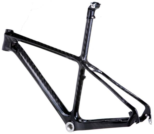 US $250 0 |Mountain bike frame cheap clearance sale china CX mountain  bicycle parts hardtail mtb carbon frame 26er with seatpost-in Bicycle Frame  from