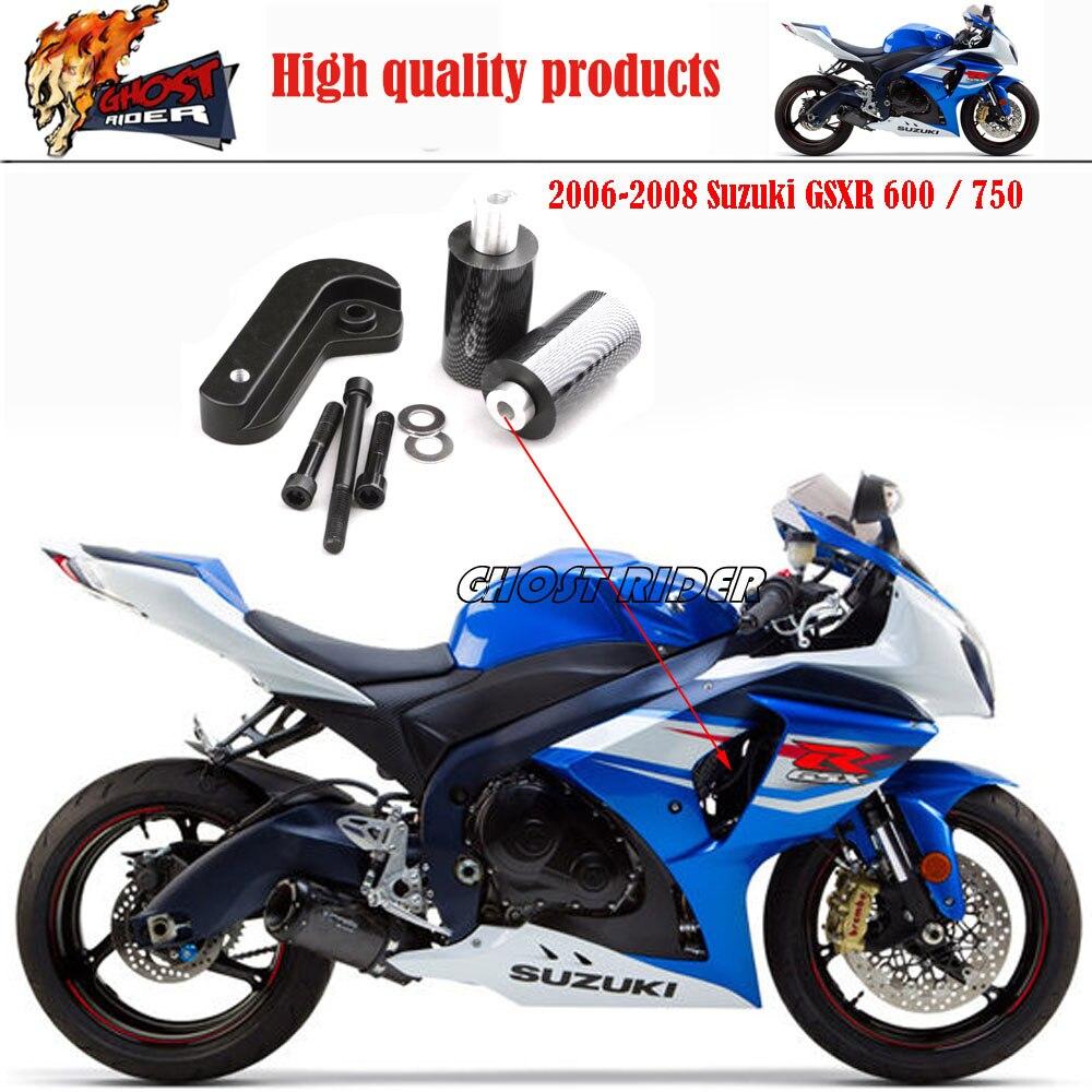 Motorcycle Racing No Cut Crash Pads Fairing Frame Protectors Slider ...