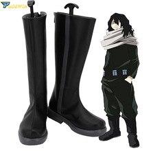 Boku pas de héros académique mon héros académique Shota Aizawa gomme tête Cosplay chaussures bottes sur mesure