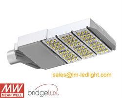 Strada ha condotto la luce 90 W led stradale ip65 85-265 V MeanWell driver per LED luce della strada con luce di via adapter DHL libera il trasporto