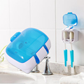 1Pc UV Light Toothbrush Sterilizer Toothbrush Holder Dental Care UV Ultraviolet Sanitizer Toothbrush Cleaner Storage Holder RP1-