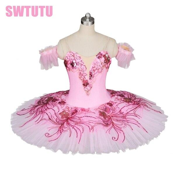 7b4d57353 adult pink peach ballet tutu women flower fairy ballerina tutu