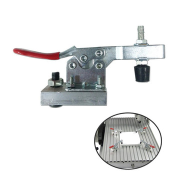 4pcs/lot Chuck Clamp Plate Engraving Machine CNC Router Fixture Woodworking Aluminum Plate Fixing 2 pcs lot cnc engraving machine clamp high strength plywood wood router table t slot plate