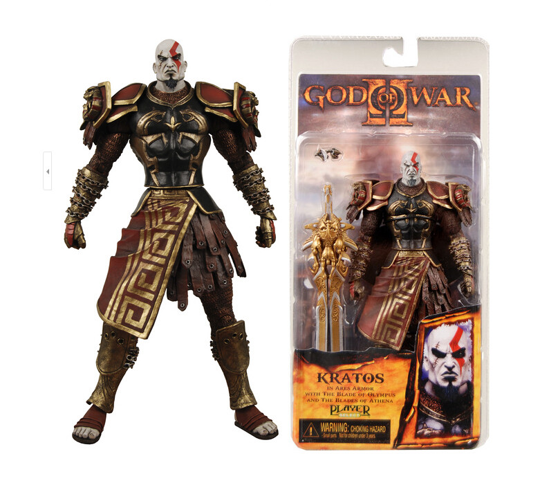 Hot Sale High Quality NECA God of War 2 II Kratos in Ares Armor W Blades 7
