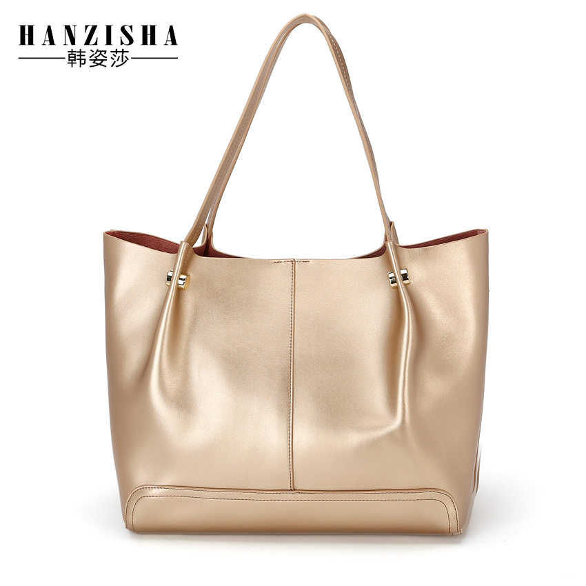 ФОТО 2017 New Fashion Genuine Leather Women Shoulder Bag Luxury Design Leather Women Composite Bag Famous Brand Bag Women Tote Bag