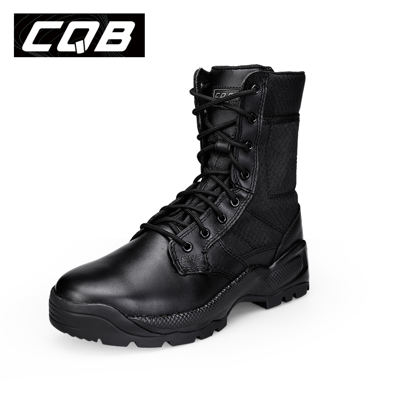CQB Tactical High Cylinder Hiking Shoes Ерлер Сыртқы - Кроссовкалар - фото 2