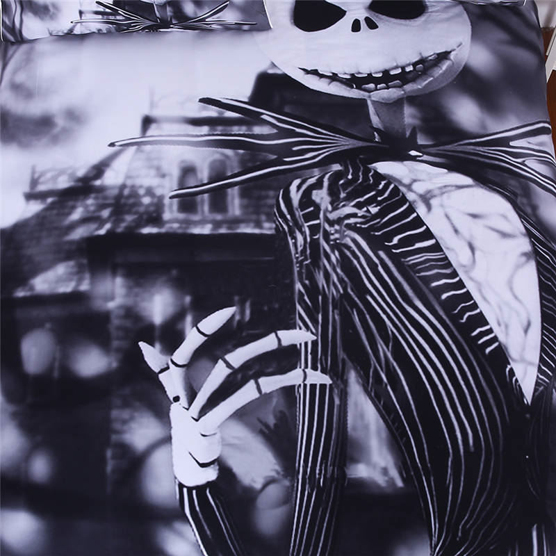 Online Shop Moonpalace Bedding Set Nightmare Before Christmas Cool ...