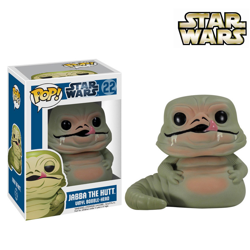 Funko pop Official Star wars - Jabba The Hutt Action Figure Hot Movie Collectable Vinyl Figure Model Toy with Original box