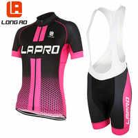 Longo ao 2019 camisa de ciclismo das mulheres verão manga curta ciclismo roupas/bicicleta roupas esportivas ropa ciclismo