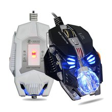 Gaming Mouse 8 Button Mechanical Mouse 2500DPI A5050 Chip Wired Mouse Gamer Macro Programming Optical Computer Mouse for Laptop