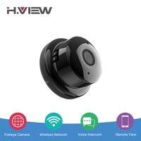 H VIEW 960P Panoramic Camera 180 CCTV Camera 720P IP Camera Wifi Camara IP Fisheye Mini
