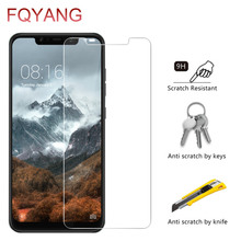 FQYANG 2PCS 9H 0.26MM Tempered Glass For XIAOMI 6 A2 6X 8 SE Explorer LITE PRO 8X MAX 2 3 Screen Protector Protective Film