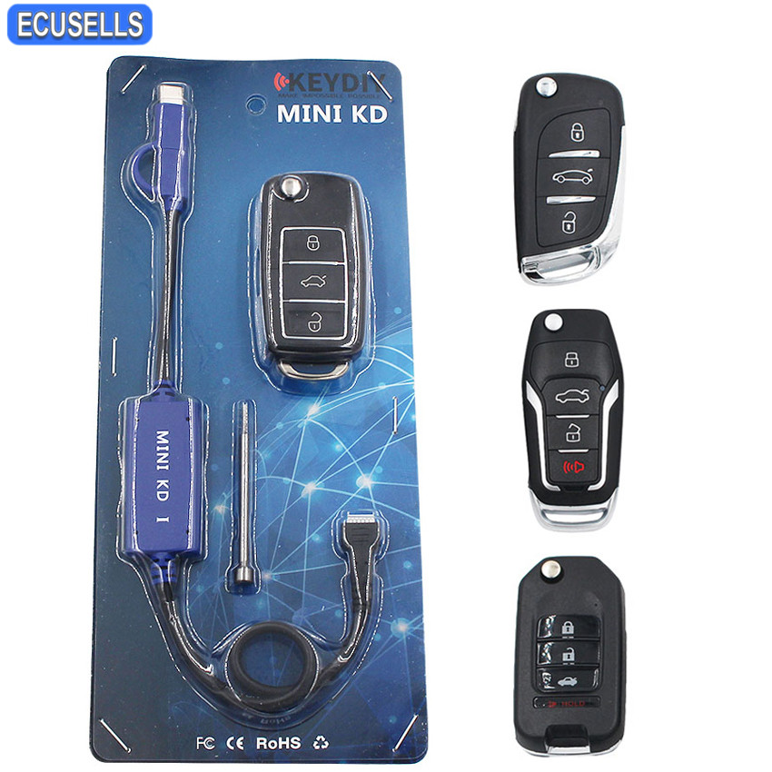 Newest Mini KD Key Generator Remotes Warehouse in Your Phone Support Android Make More Than 1000 Auto Remotes + 4pcs KD Remotes-in Auto Key Programmers from Automobiles & Motorcycles    1