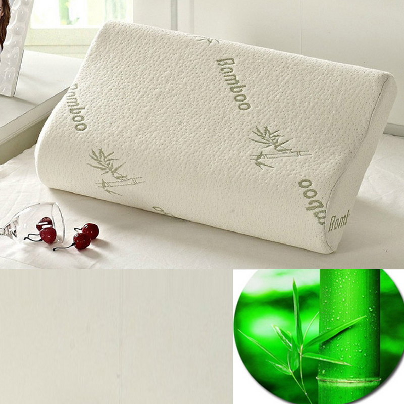 high quality latex pillow slow rebound material massage for neck sleeping pillow use home bed bamboo - Latex Bed